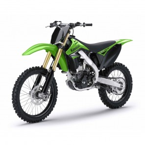 Kawasaki KX250F 2009-2012 Side Panel Stickers
